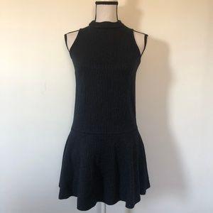 Chic Loft High Neck Sleeveless Dress